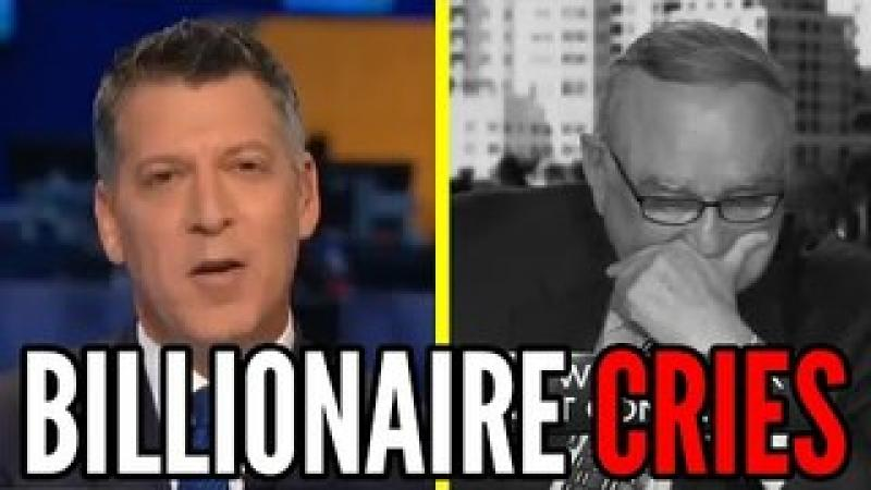 Billionaire CRIES on National TV Because POOR PEOPLE Made MONEY Buying GameStop Stock (GME)