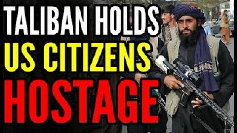 Taliban Hold SIX PLANES With HUNDREDS of Americans and Allies HOSTAGE, Top Republican SLAMS Biden