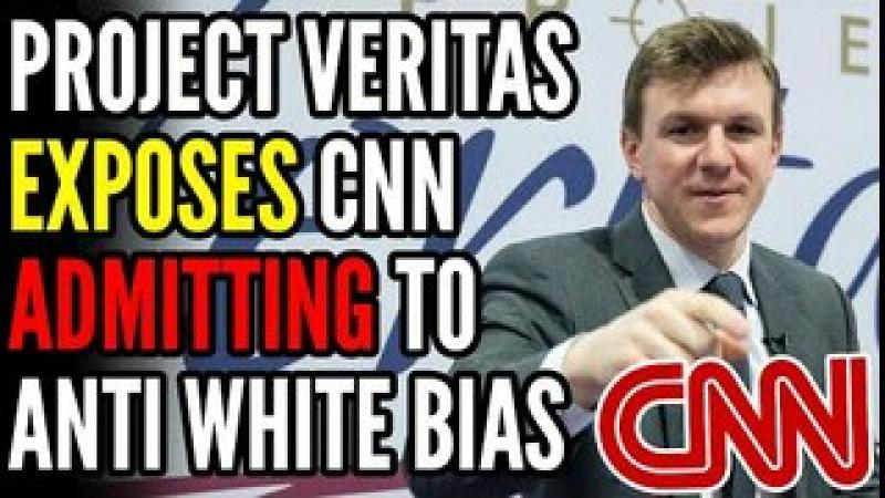 Twitter BANS Project Veritas After James O#x27;Keefe EXPOSES CNN Admitting It Attacks White People