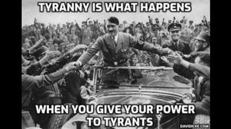 Tyranny Is What Happens When You Give Your Power To Tyrants - David Icke