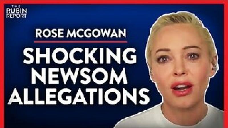 Exposing the Newsom, Weinstein amp; Clinton Connection (Pt. 1) | Rose McGowan | MEDIA | Rubin Report