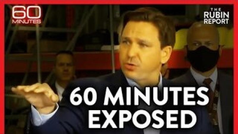 How 60 Minutes Edited Ron DeSantis#x27;s Answer to Smear Him amp; Mislead Viewers | POLITICS | Rubin Repo..