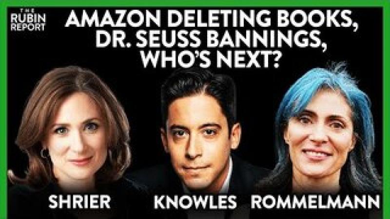 Mob-Led Book Banning: Michael Knowles, Abigail Shrier, Nancy Rommelmann | ROUNDTABLE | Rubin Repor..