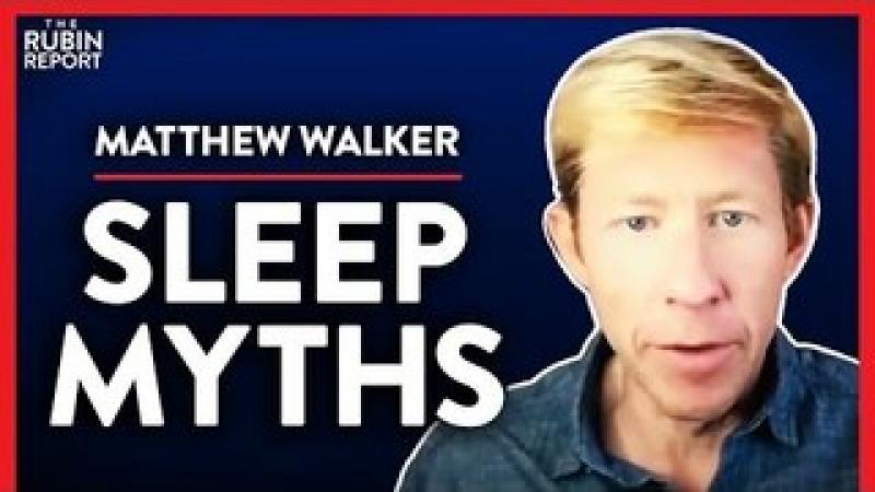 Sleep Expert Debunks Most Believed Sleeping Myths (Pt. 1)| Matthew Walker | LIFESTYLE | Rubin Repo..