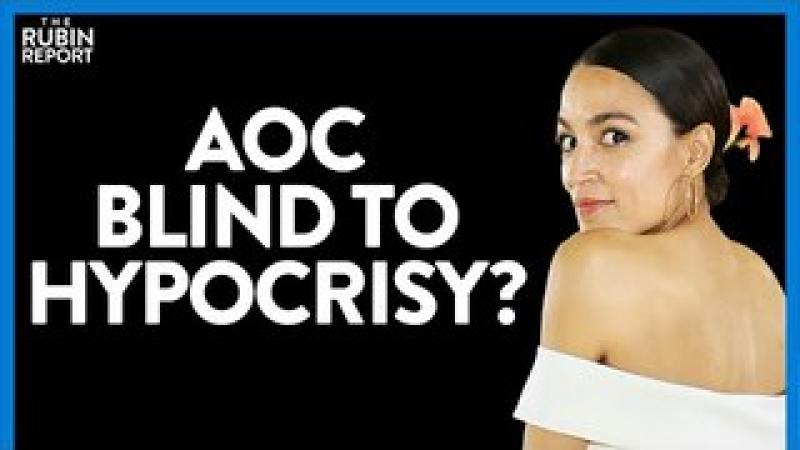 AOC Wears This Slogan on Her Dress, Unaware That It Exposes Her Hypocrisy | DM CLIPS | Rubin Repor..