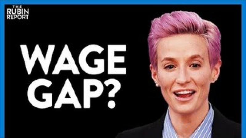 What Megan Rapinoe Gets Wrong About Equal Pay Day amp; Gender Pay Gap | DIRECT MESSAGE | Rubin Report
