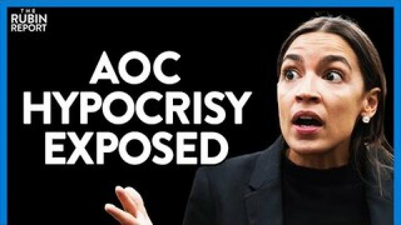 AOC Melts Down When Asked Why She Isn#x27;t Talking About Kids in Cages | DIRECT MESSAGE | Rubin Repor..