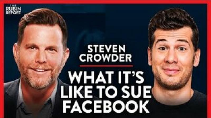 Suing Facebook amp; Big Tech Canceling Conservative Businesses | Steven Crowder | COMEDY | Rubin Repo..