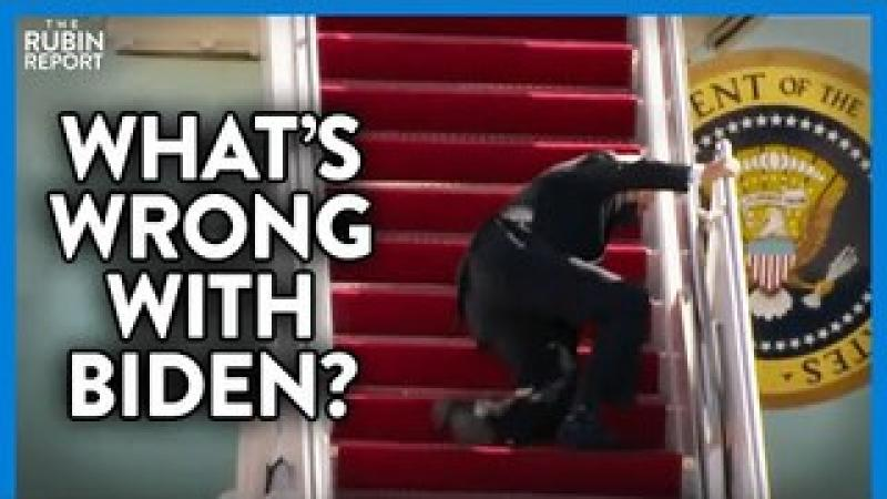 Shocking Footage of Joe Biden Falling Multiple Times: What Is Wrong? | DIRECT MESSAGE | Rubin Repo..