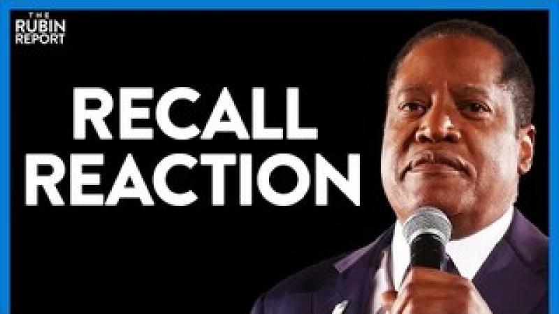 Californians Make Their Recall Election Choice. Dave Rubin Responds | Direct Message | Rubin Repor..