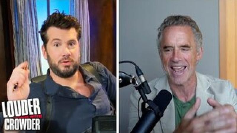 EXCLUSIVE: Dr. Jordan Peterson and the LATEST on the COVID Pandemic | Louder with Crowder