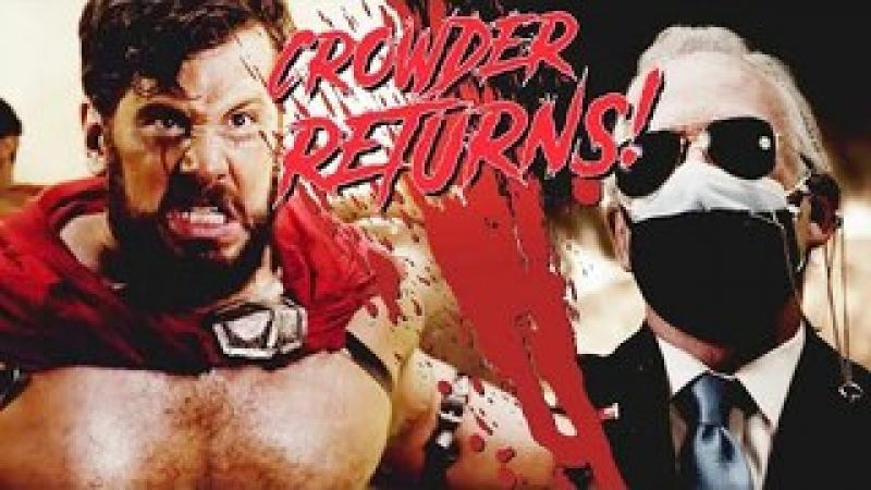 BOW TO NO ONE...Crowder Returns! (300 Parody) | Louder with Crowder