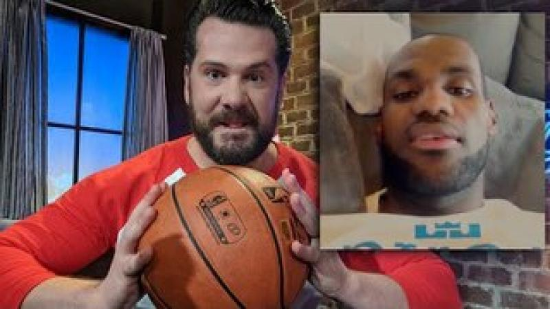 SHUT UP AND DRIBBLE! Don#x27;t Give #LeBronJames A Pass For Inciting Violence! | Louder with Crowder