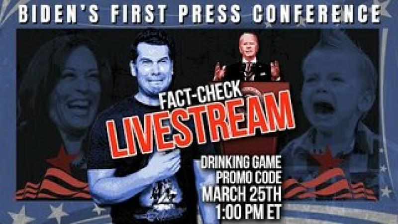 Crowder TAKES OVER Biden#x27;s 1st Press Conference! | Louder with Crowder