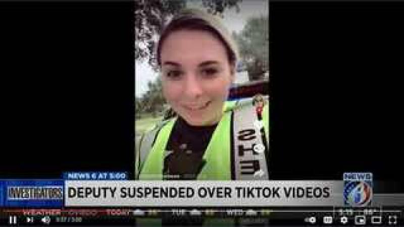 Orange County Deputy Suspended Over TikTok Videos - Is This A Bid Deal?