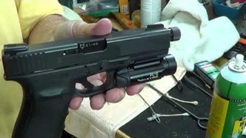 Changing Glock Barrel To A Threaded Barrel For A Can - Glock 21 Lone Wolf Threaded Barrel