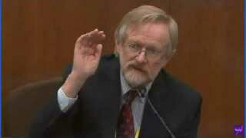 George Floyd Trial - Cross Examination of Lung Doctor Expert - A Little Argumentative