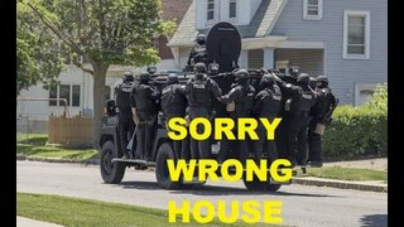 Why Do Police Raid The Wrong House? Retired Cop Explains Why It Should Never Happen