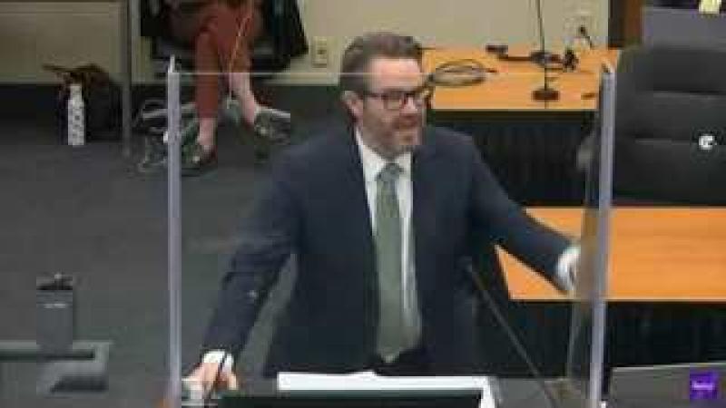 George Floyd Trial - Part One Of Defense Closing Argument