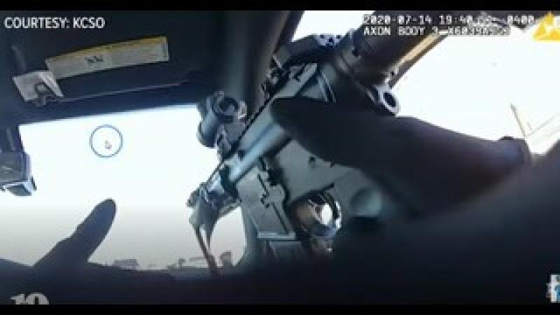 Cops Shoot 70 Rounds Hits Suspect 3 Times - Some Cross Fire amp; Tactical Issues - 1 Cop Loses Car