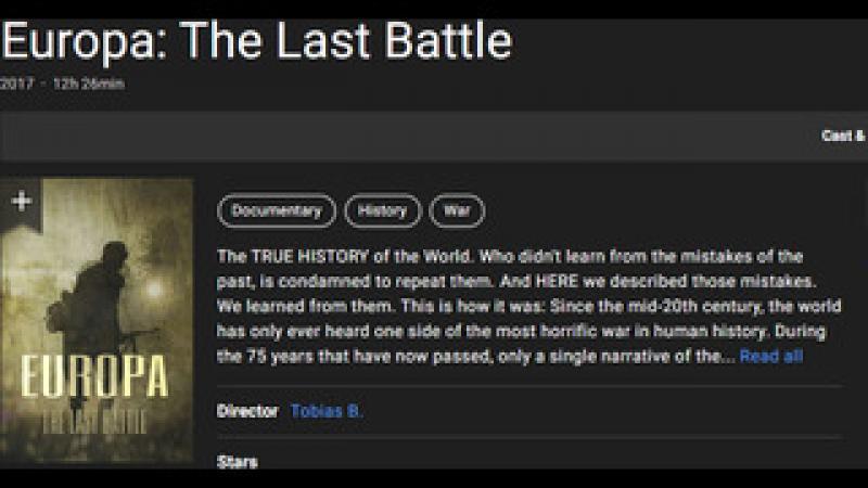 Europa: The Last Battle Part One