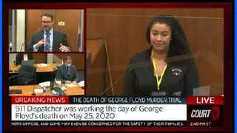 George Floyd Trial - Another Bad Gov Employee Witness - 911 Operator Watching TV
