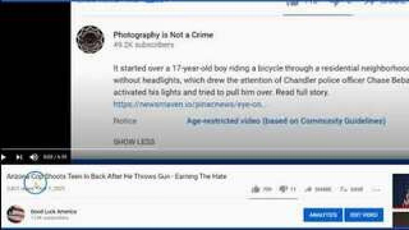 Follow Up Comment amp; New Video Of Teen Shot In Back