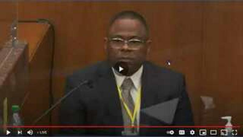 George Floyd Trial - 10,000 Dollar Paid Expert Taxpayer Money - For What?