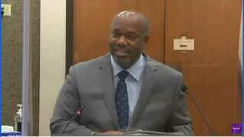 George Floyd Trial - Direct Examination of Lung Doctor Expert - Another Bias Witness