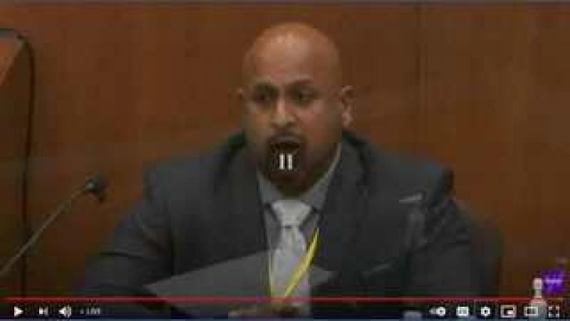George Floyd Trial - State Super Special Investigator Testifies