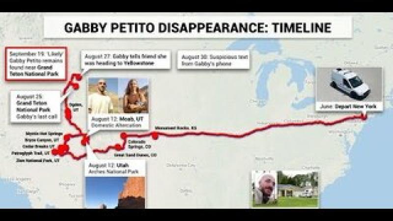 9.21.21 - Timeline Update Of Gabby Murder Investigation - What Are Next Investigative Steps