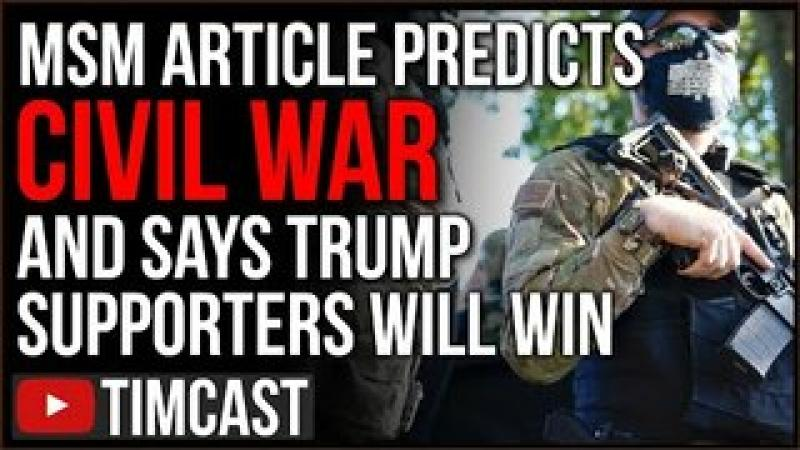 Historian Says CIVIL WAR Is Coming And Trumpists Will WIN, New Hampshire Reps File To Secede From ..