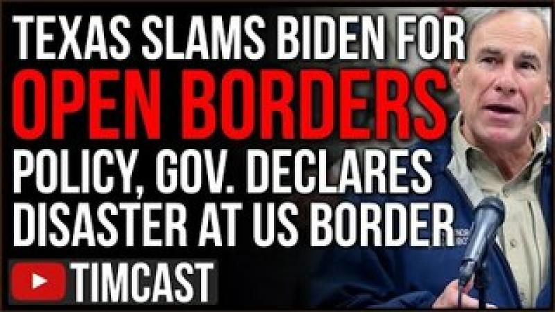 Texas Declares Migrant Crisis A DISASTER, SLAMS Biden Open Borders Policy, Democrats Escalate Cris..