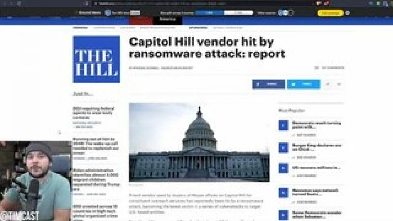 Dozens Of Congressional Offices Hit By Ransomware Attack, Panic ERUPTS After Massive Internet Outa..