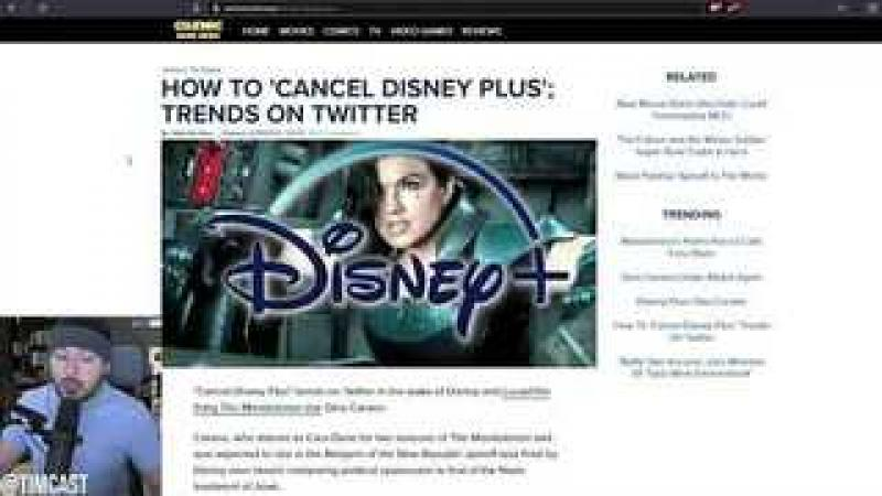 #CancelDisneyPlus Trends #1 After Gina Carano Gets FIRED From Mandalorian Over Woke Leftist Outrag..