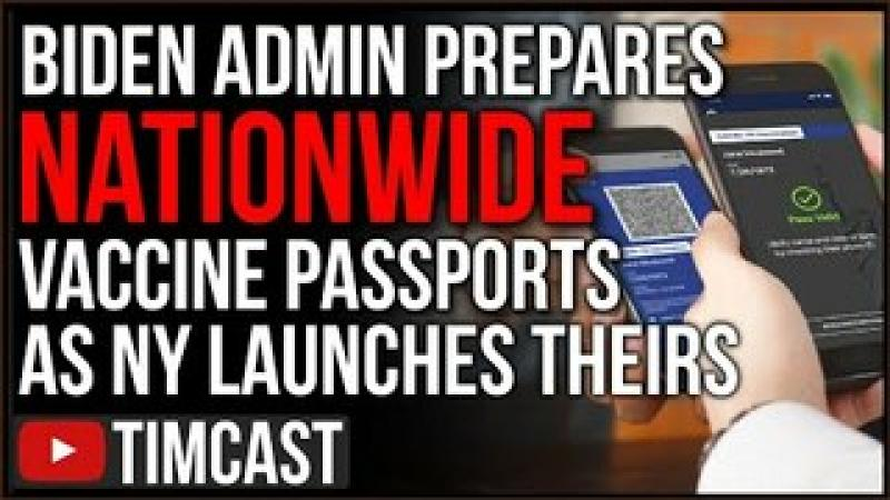 Vaccine Passports Have Launched In The US, Biden Admin Says National Passport System To Launch Soo..