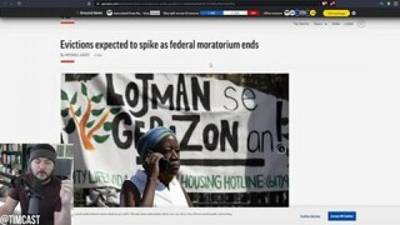 Democrats Fail To Extend Eviction Moratorium, Millions Of Foreclosures Could Spark MAJOR Depressio..