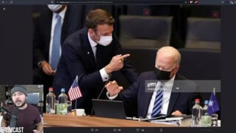 Viral Photo Shows Biden SCOLDED By France, Other Countries LAUGHING At U.S Over Biden#x27;s Broken Bra..