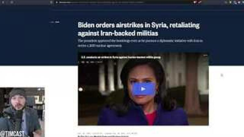 Biden Has Bombed Syria, Admin Announces New Sanctions on Russia, He Is Pushing For SERIOUS War