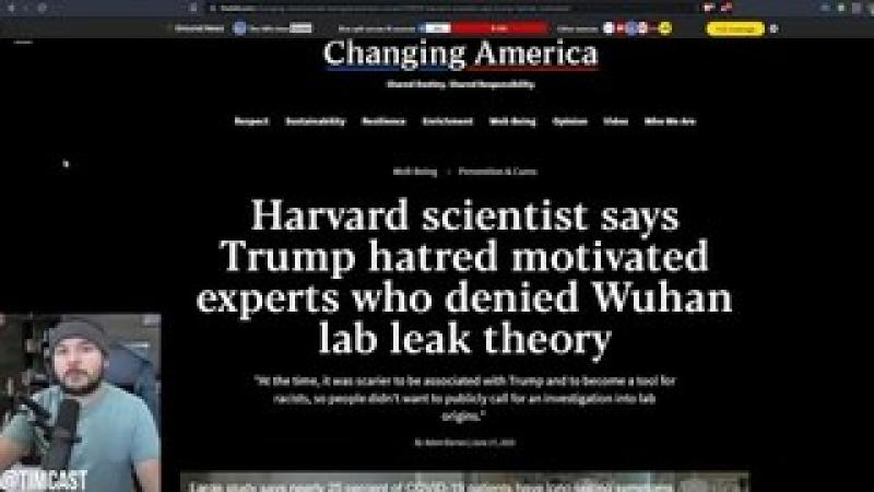 Scientist ADMITS They LIED About COVID Theories Because They HATED Trump And Didn#x27;t Want To Help H..