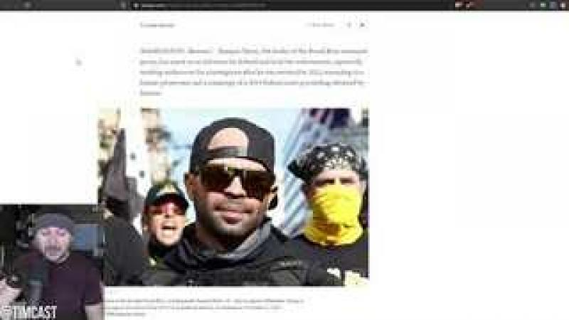 Report Claims Proud Boy Chairman Enrique Tarrio Was A Federal Informant, Helped Catch Human Smuggl..