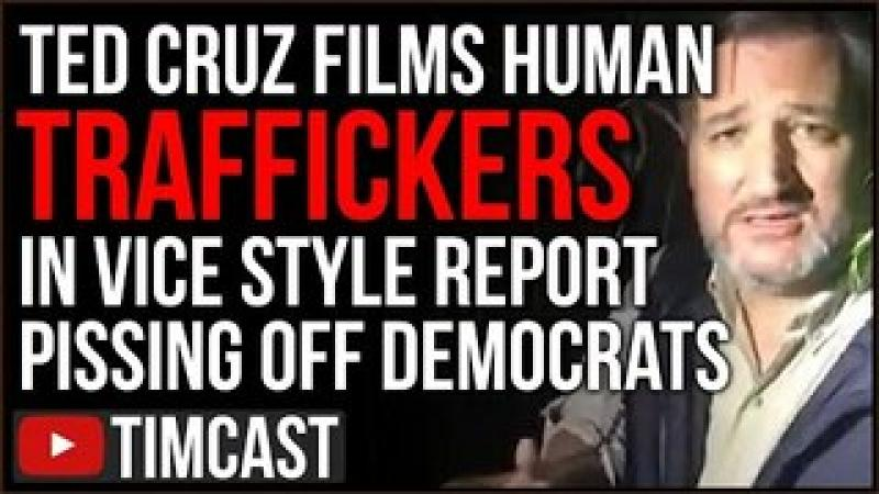Ted Cruz Leads VICE Style quot;Huntquot; For Smugglers And Illegal Immigrants, Democrats Call It A STUNT