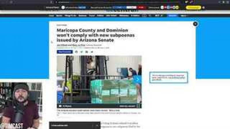 AZ Senator Demands ARREST Of Dominion And County Officials For REFUSING To Comply With Subpoena