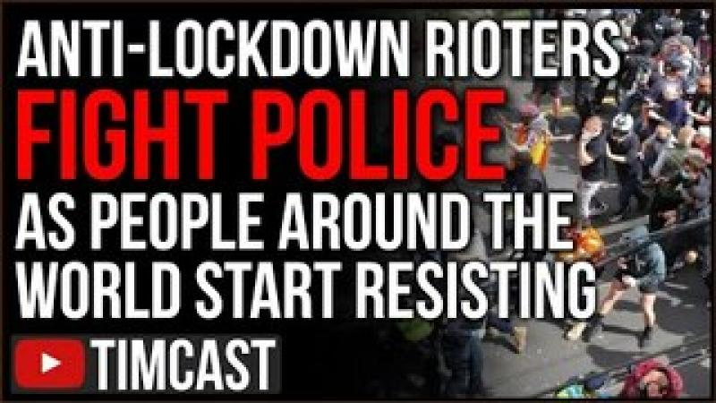 Riots ERUPT Over COVID Lockdown And Vaccine Mandates, Police TRAMPLED, BLM Plans NYC Protest