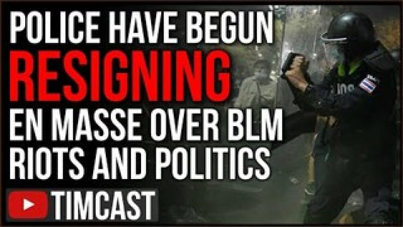 Police Are Resigning EN MASSE Over BLM Riots And Democrat Policy, Chauvin Verdict Will Make It WOR..