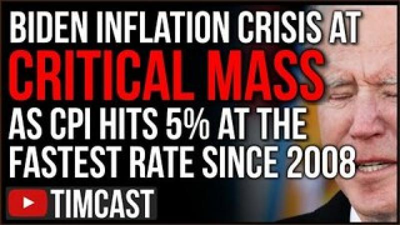 Biden Inflation Crisis Gets WORSE, Prices May Predict MAJOR Market Crash As Democrats KEEP Spendin..
