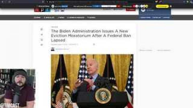 Biden Violates Supreme Court Order Illegally Creating New Eviction Moratorium After Democrats Dema..