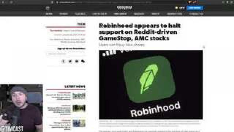 Robinhood BANS Stock Buying For Gamestop And Others, Media Cronies SMEARING WSB As Alt Right