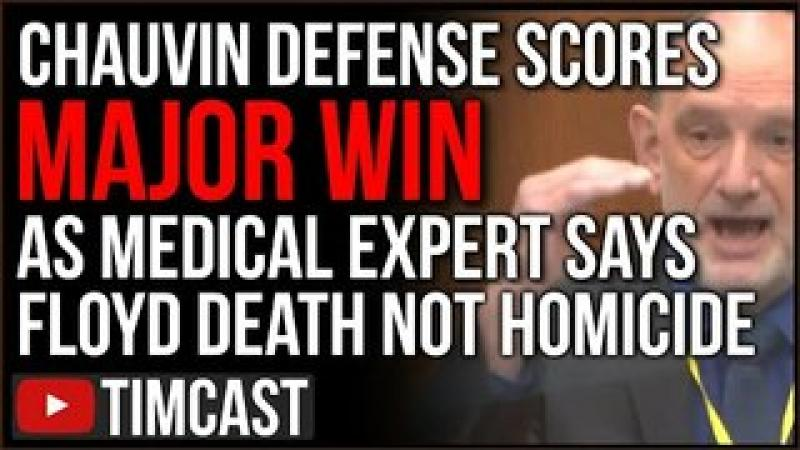 Chauvin Trial Defense Scores MAJOR Win As Medical Expert Says George Floyd Death Was NOT A Homicid..