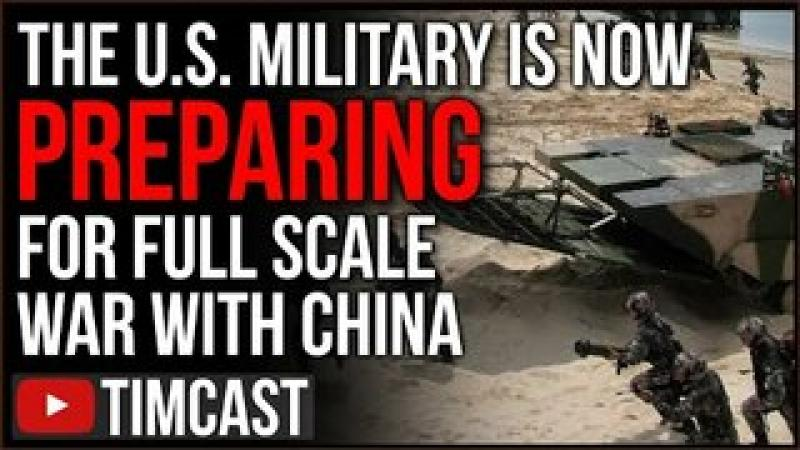 The US Now Prepping For WAR With China, Dispatching Air Force Across Pacific, Taiwan Faces Invasio..